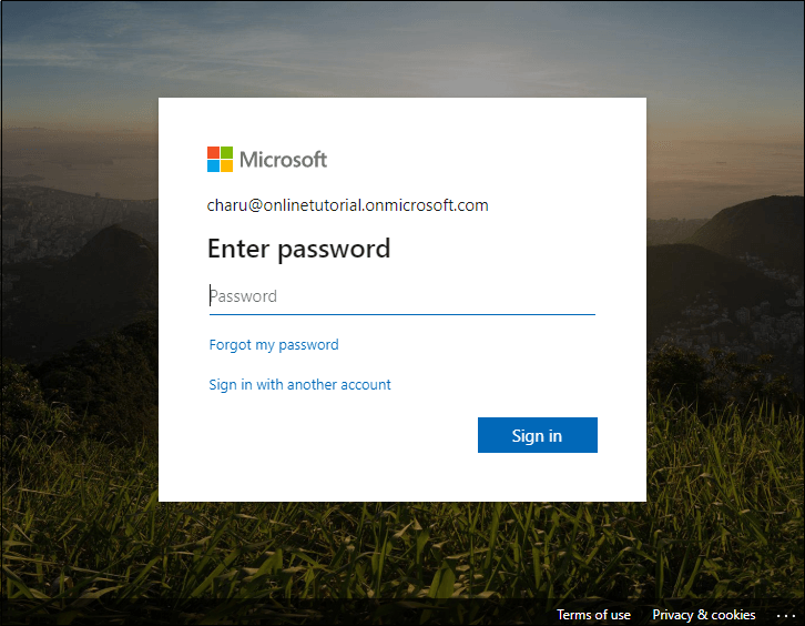 Login to SharePoint 11