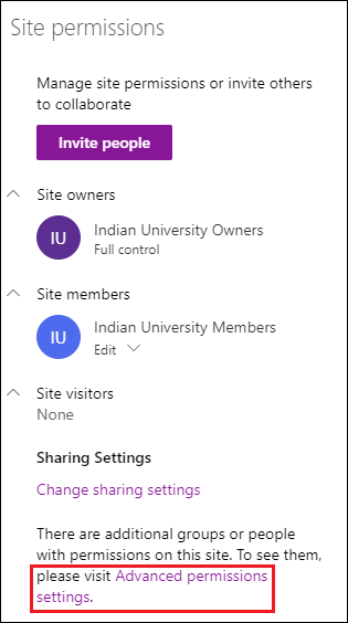 Managing Permissions in SharePoint