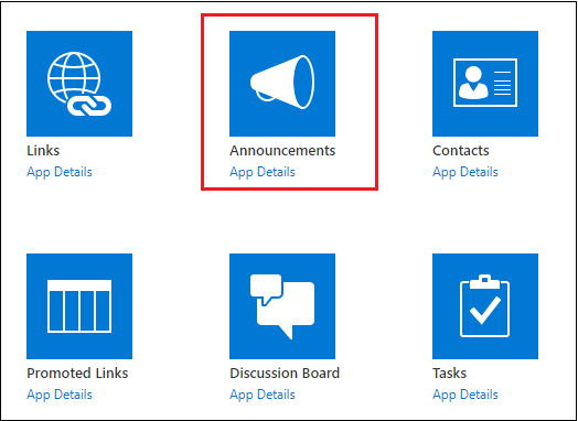 SharePoint List Apps