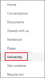 SharePoint Site Navigation