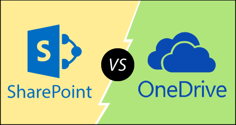 SharePoint vs OneDrive
