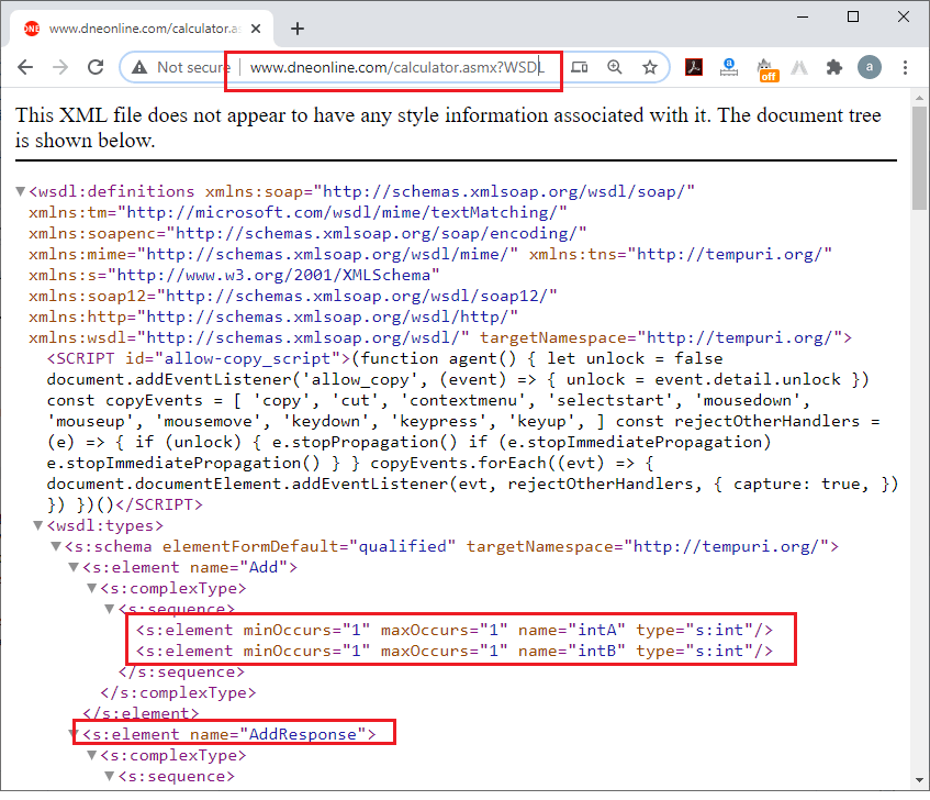 Create SOAP Project in SoapUI Tool