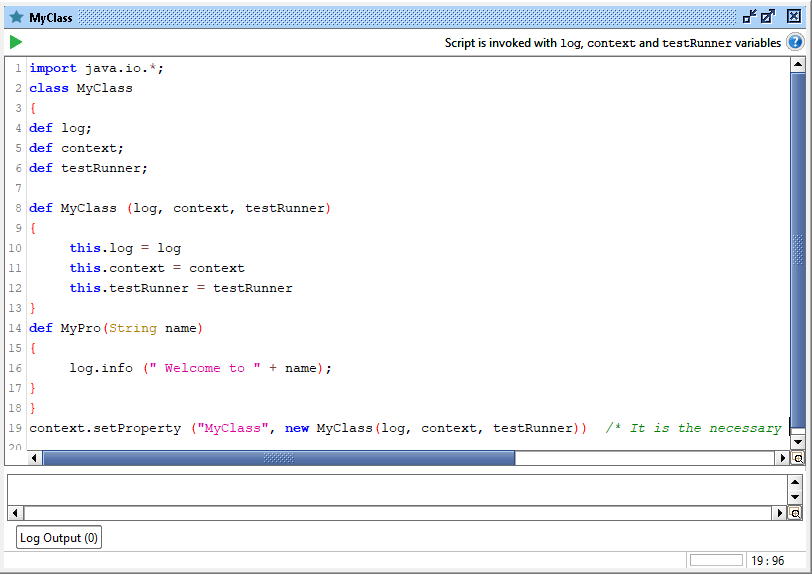 SoapUI Groovy Script