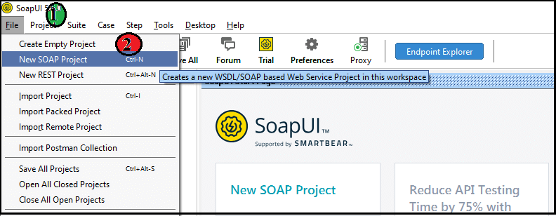 Working With WSDL File
