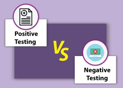 Positive Testing vs Negative Testing