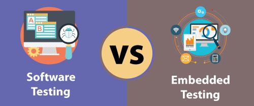 Software Testing vs Embedded Testing