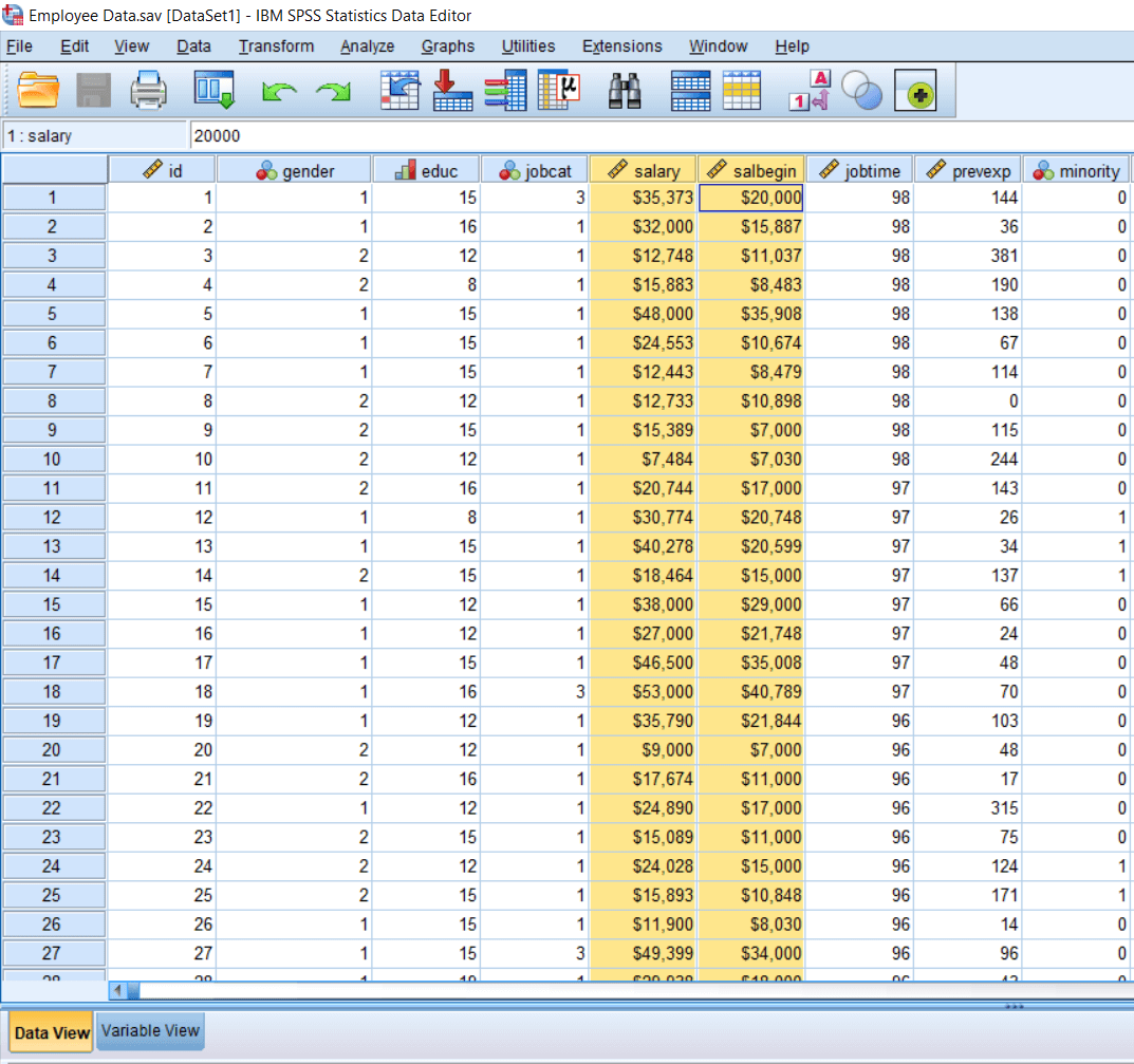 Calculating Paired Sample t-test