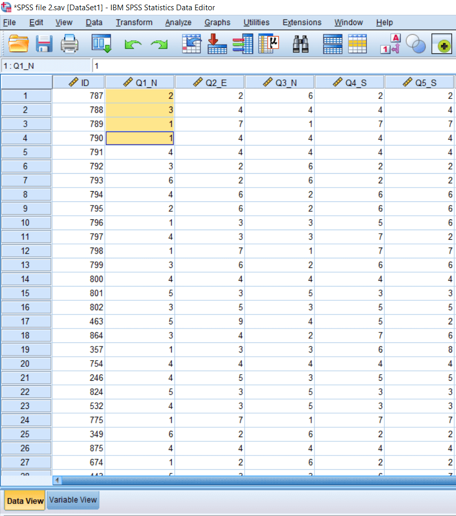 Recode into Same Variable in SPSS