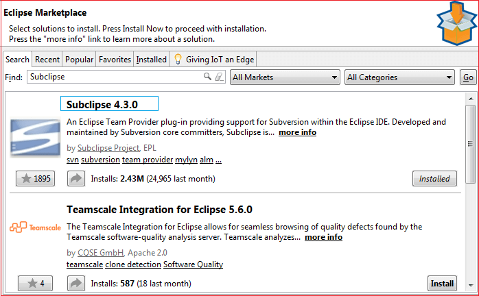 SVN for Eclipse