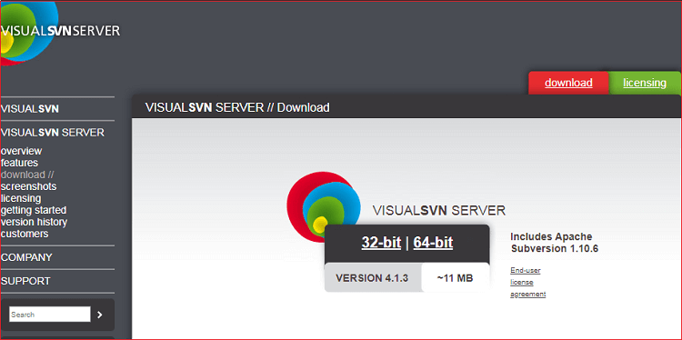 SVN Installation for Windows