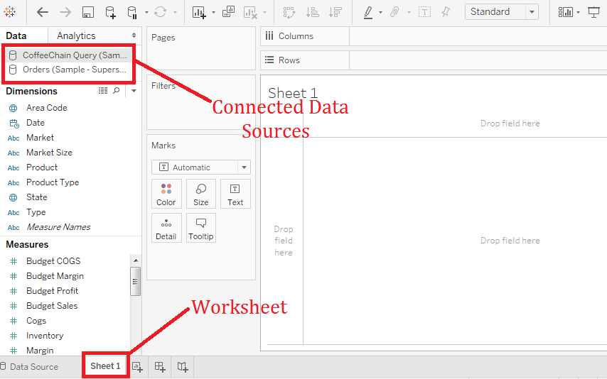 Tableau Replacing Data Source | Replacing Data Source in