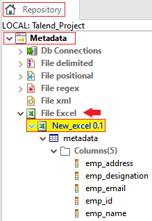 Centralizing Excel File Metadata