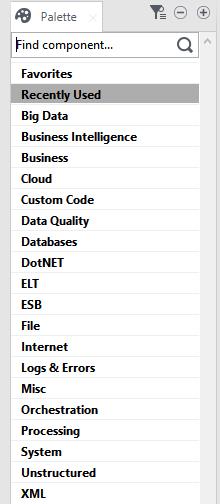 Talend Data Integration features