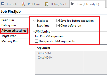 Talend Data integration Job Designing