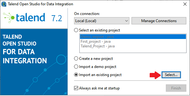 Talend Projects