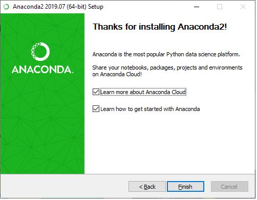 Installation of TensorFlow through conda