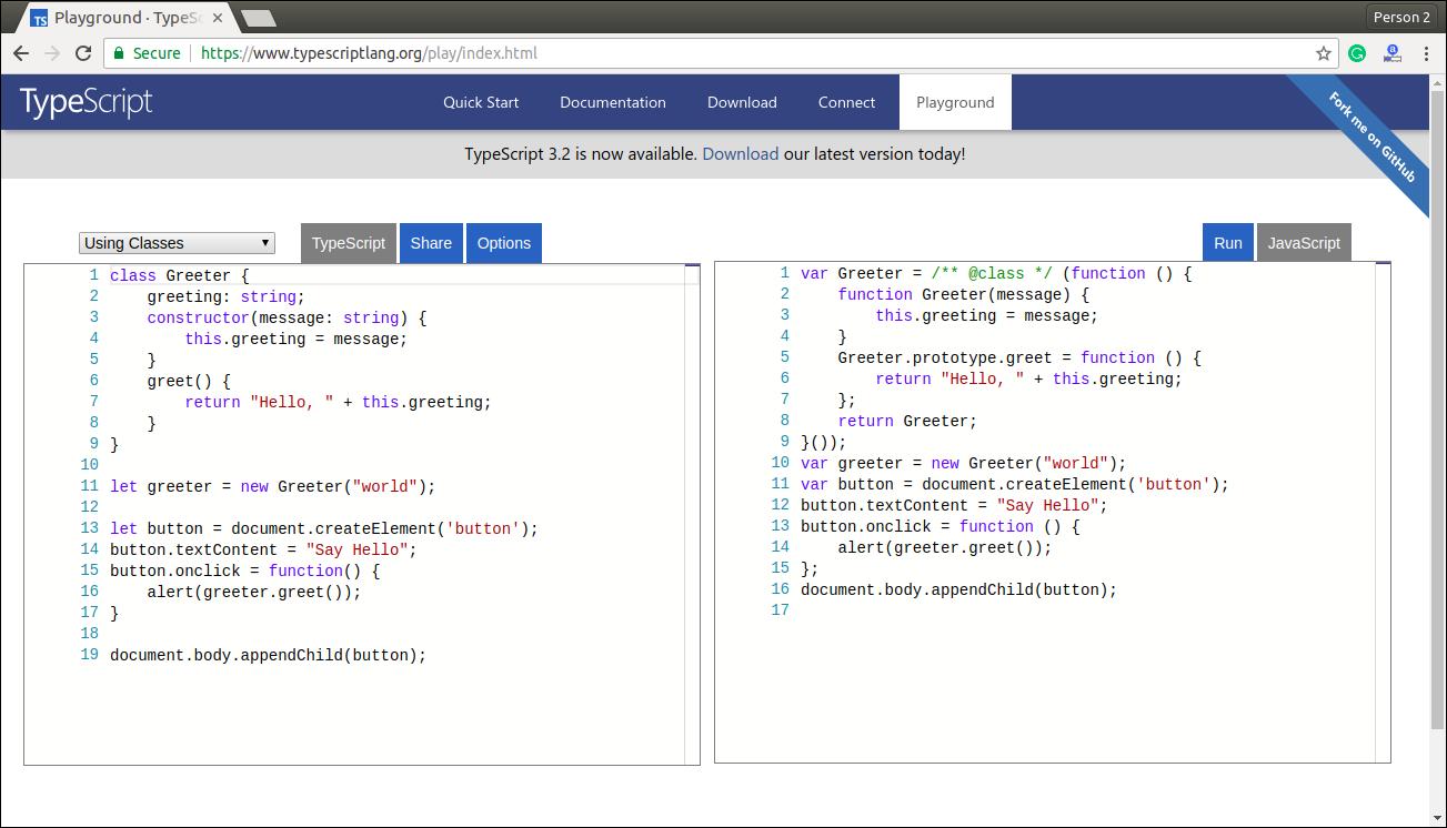 TypeScript Installation