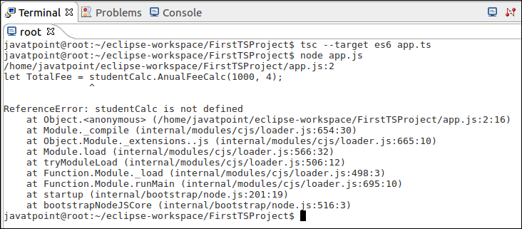 TypeScript Namespaces