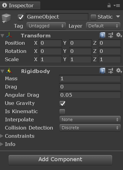 Unity Interface