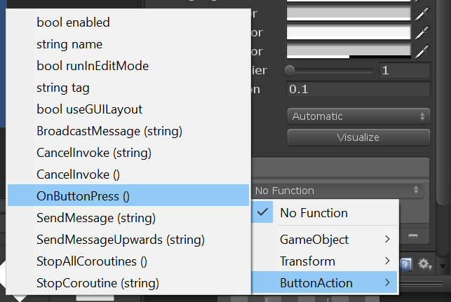 Unity UI Button