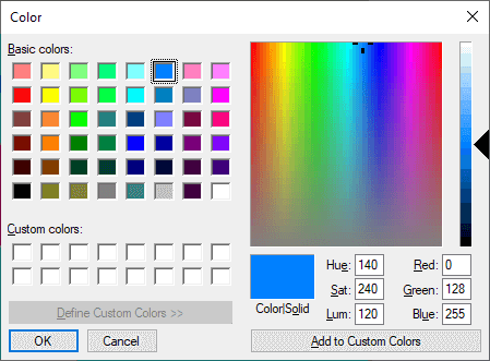 VB.NET Color Dialog Box