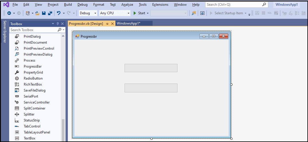 VB.NET ProgressBar Control