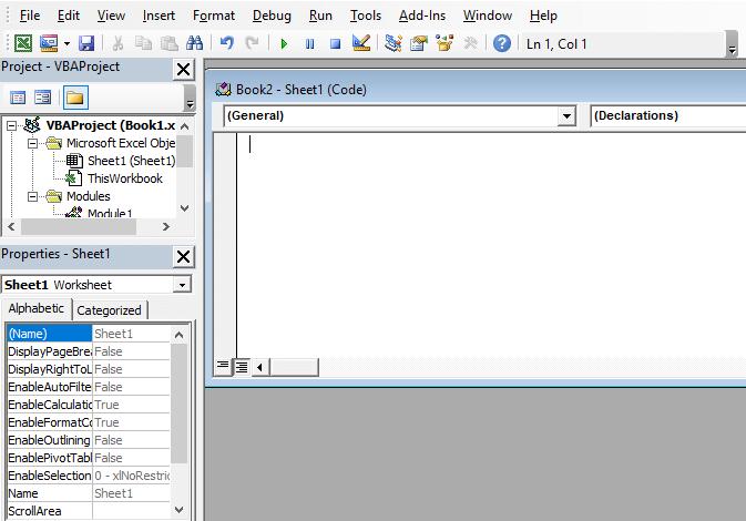 VBA Editor - javatpoint