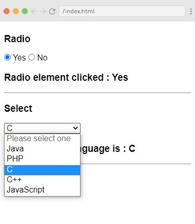 Vue.js Form Input Bindings