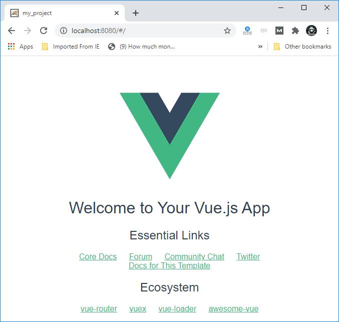 Vue.js Installation