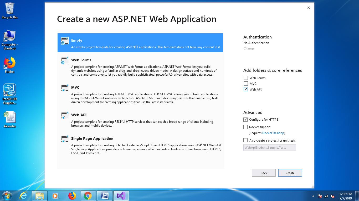 Asp.Net Web Api Tutorial