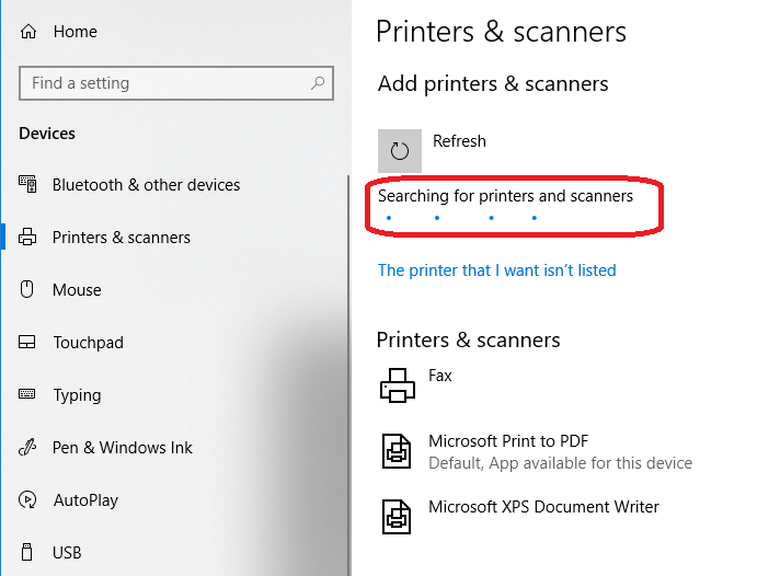 How to add a Bluetooth Printer to Windows 10 PC