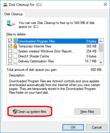 How to clear cache in Windows 10