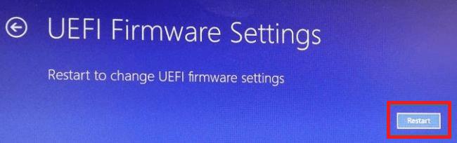 How to enter into BIOS Windows 10