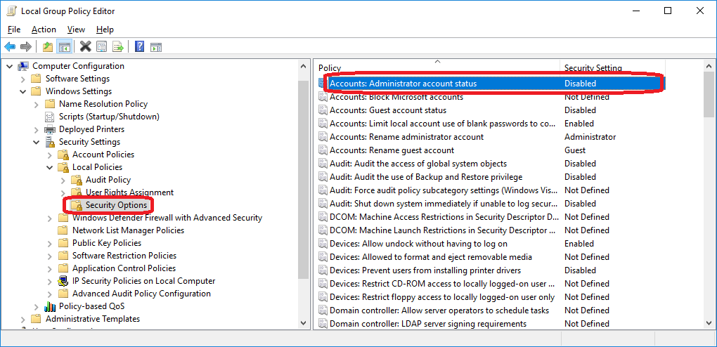 How to login as Administrator in Windows 10?