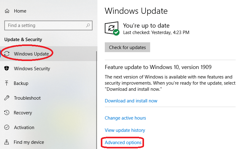 How to stop a Windows 10 update
