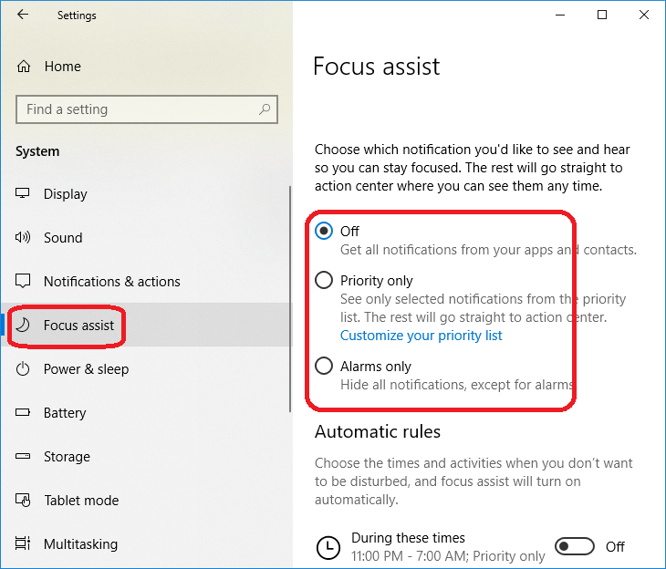 How to Turn Off Notifications in Windows 10