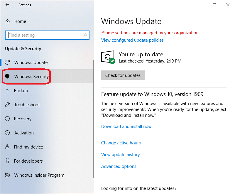 How to turn off Windows Defender in Windows 10
