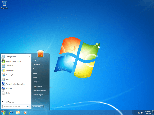 When did Windows 7 come out