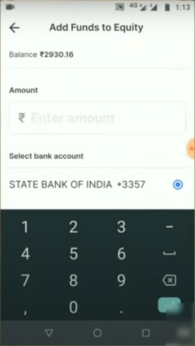 How to Add Funds In Zerodha