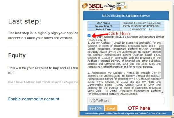 How to Open Demat Account in Zerodha