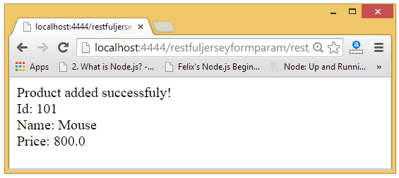 jax rs annotation form param example