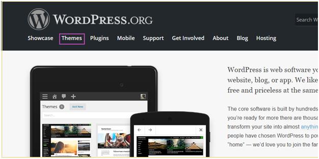 Wordpress How to install wordpress themes8