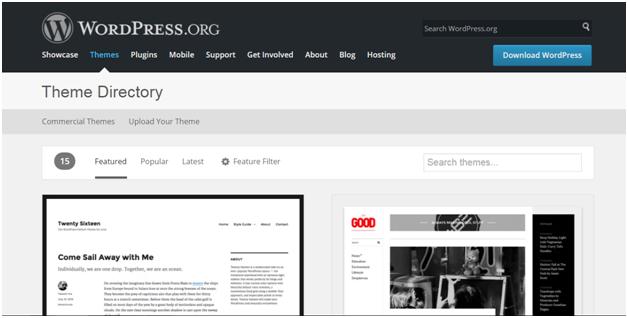 Wordpress How to install wordpress themes9
