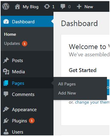 Wordpress Wordpress pages1