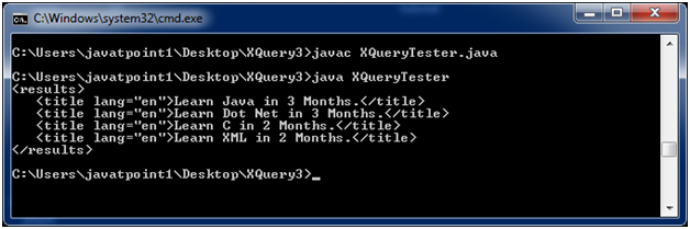 XQUERY Flwor 1