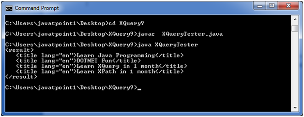 XQuery If Then Else Statement - javatpoint