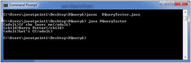 XQUERY Syntax 1