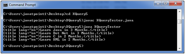 XQUERY Xpath 1
