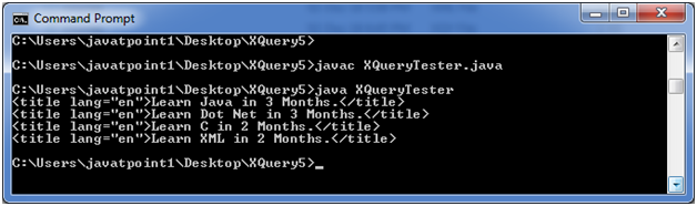 XQUERY Xpath 2