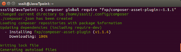 YII Installation in linux 8